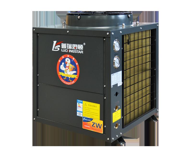 空气源热泵超低温循环式热水机组