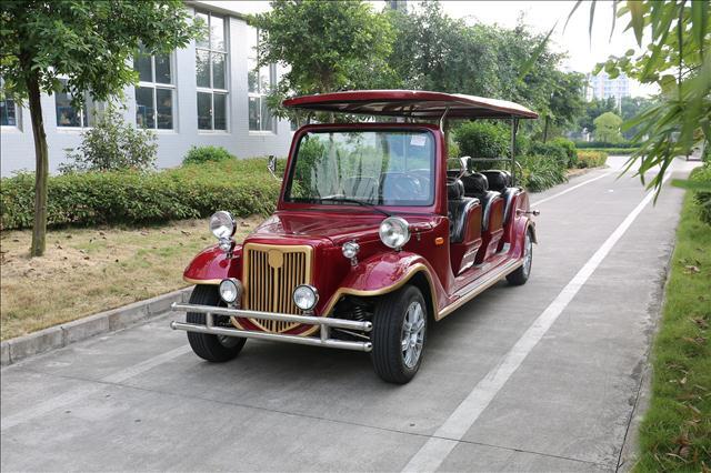 玛西尔电动老爷车观光车 贵州电动车景区老爷车厂家