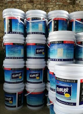 贵州厂家供应长田水晶粘贴白乳胶供应商 专业白乳胶厂
