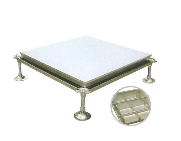 贵州厂家直销铝合金铸铝防静电地板_金开利奇信地板厂家提供专业安装服务