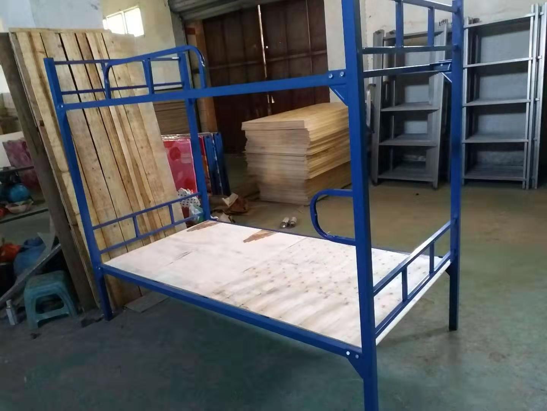 厂家批发工地铁床 上下铺铁床员工宿舍