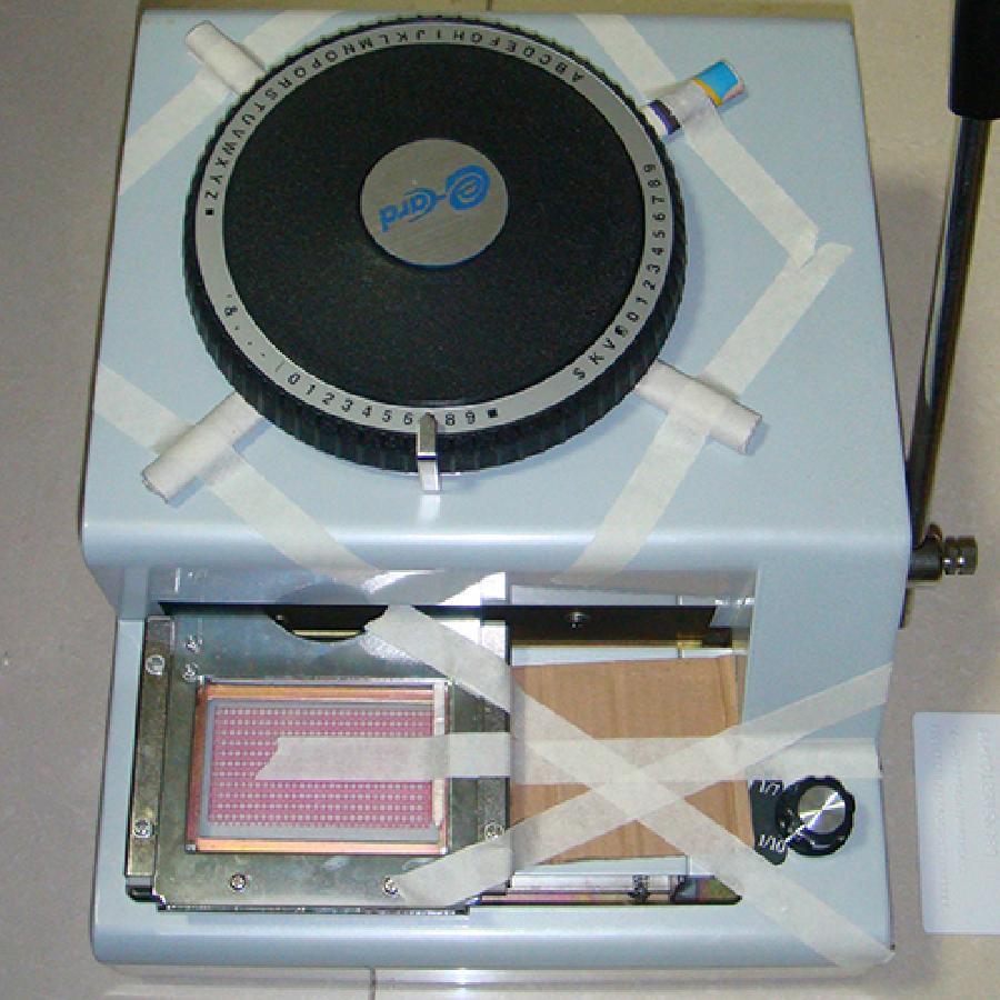 凸字机 易卡得-300手动打码机(价格面议)