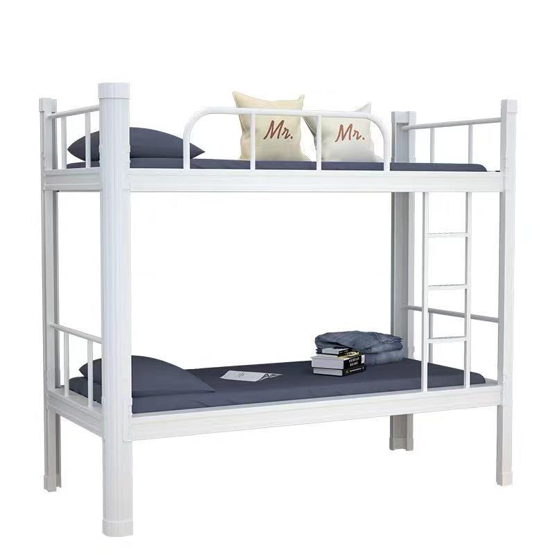 森途品牌双层床_贵州宿舍专用双层床_床加厚管壁_床可重复拆装多次使用