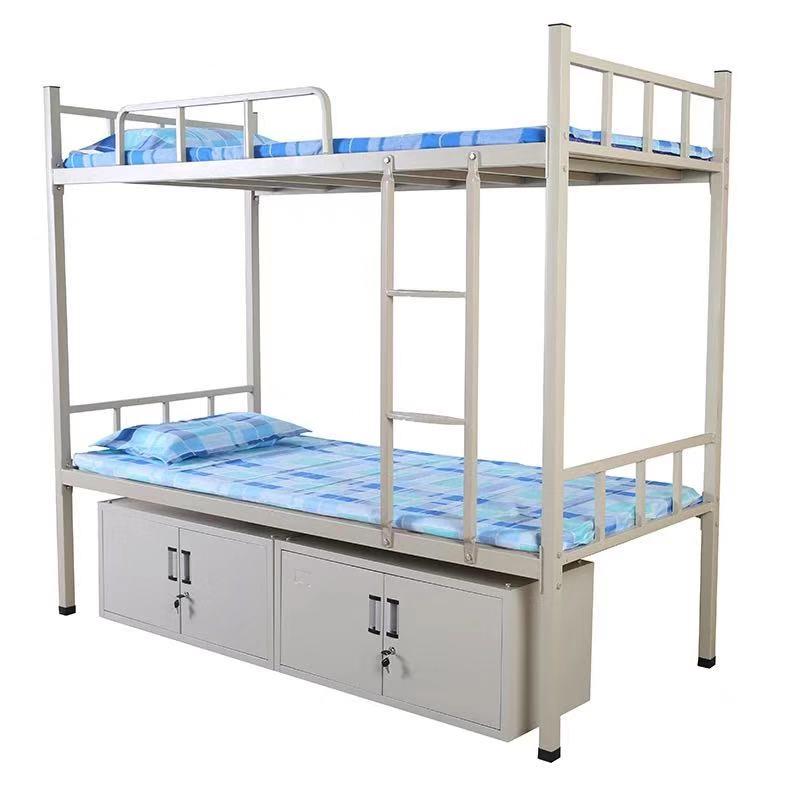 遵义双层床_森途双层床_宿舍专用双层床_床加厚管壁_床可重复拆装