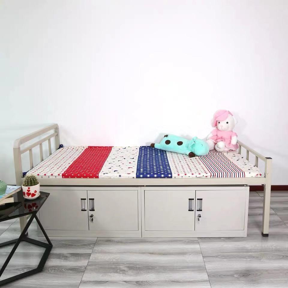 贵州双层床批发  宿舍专用双层床 床加厚管壁 床可重复拆装多次使用
