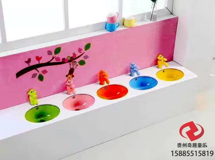贵州厂家直销幼儿洗手台 幼儿马桶厂家