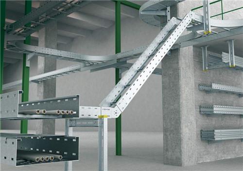铝合金梯式桥架,电缆桥架