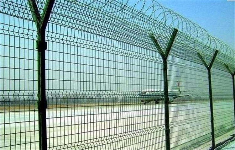 机场护栏网价格,陕西护栏厂家  西安护栏