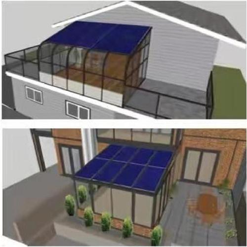 西安光伏发电站 家用太阳能电池板安装