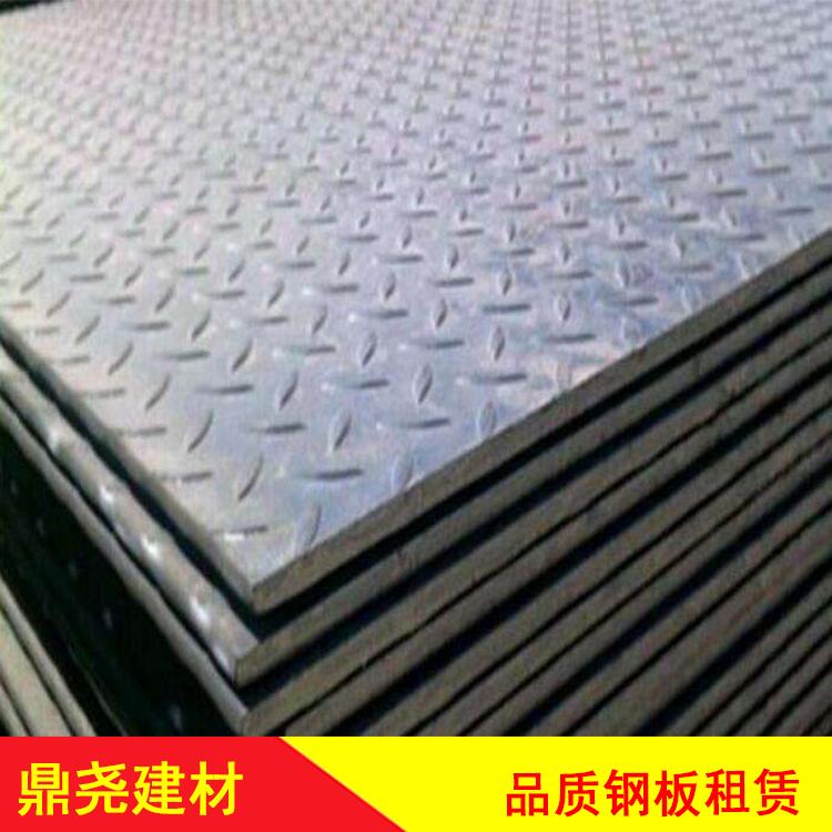 陕西铺路钢板租赁 大量钢板出租