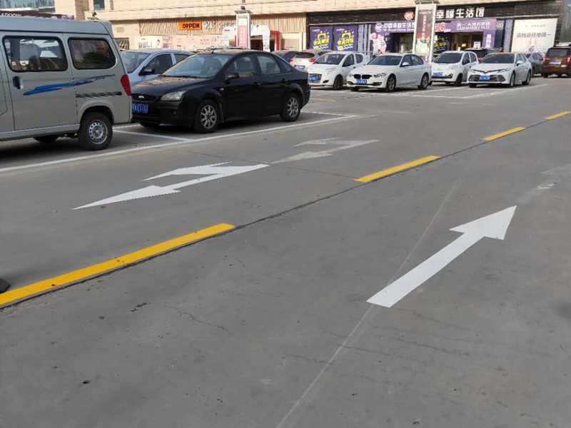 陕西咸阳交通标线施工 道路交通标线 市政道路标线