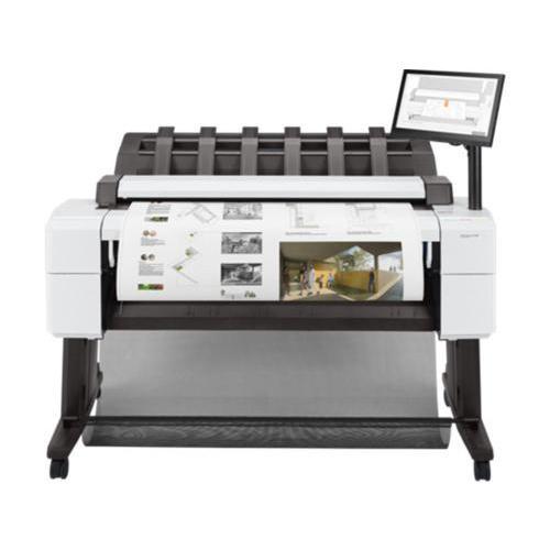 惠普彩色大幅面CAD大幅面工程图打印机绘图仪 标配
