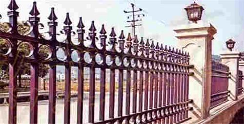 厂家现货 铁艺护栏围栏 幼儿园围墙护栏 锌钢护栏 学校别墅隔离铁艺围栏