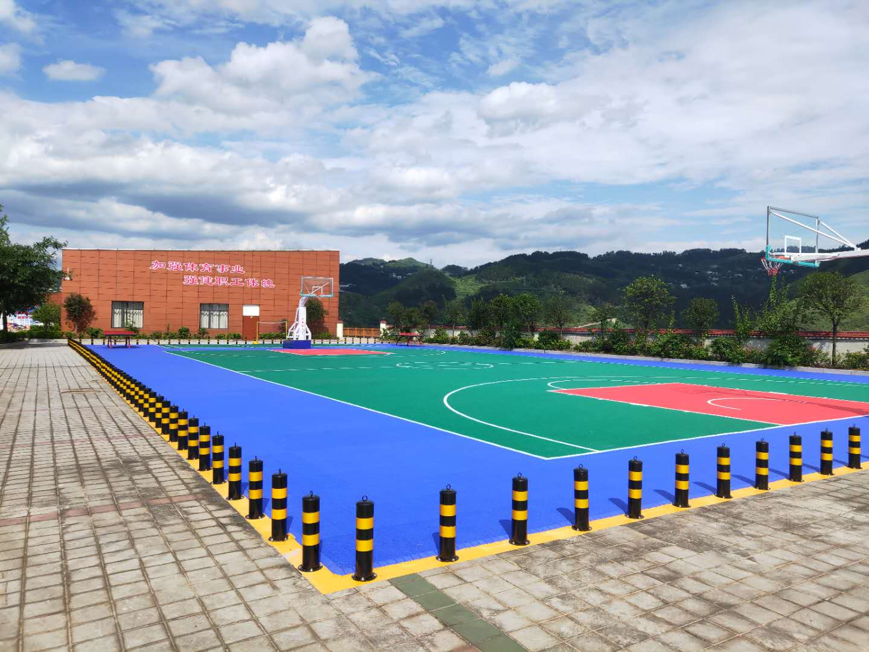 贵州贵阳塑胶篮球场成人体育器材 11226室外装拆式篮球架 GDJ-3B