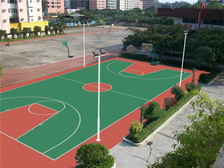 塑胶篮球场,陕西塑胶篮球场