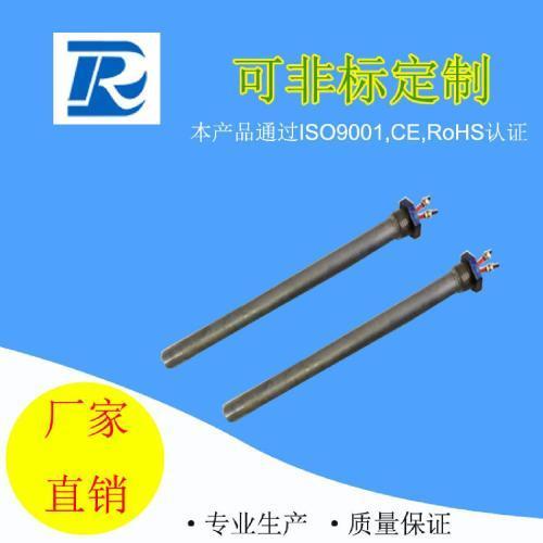 耐腐蚀溶液纯钛单头加热管 钛材质加热棒  模具端电热管