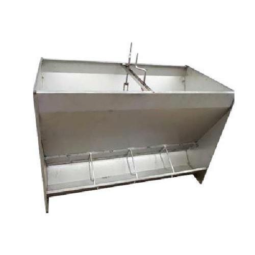 不锈钢料槽 猪用不锈钢水槽