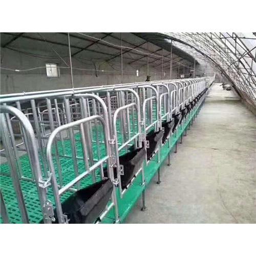 复合板定位栏 养猪定位栏