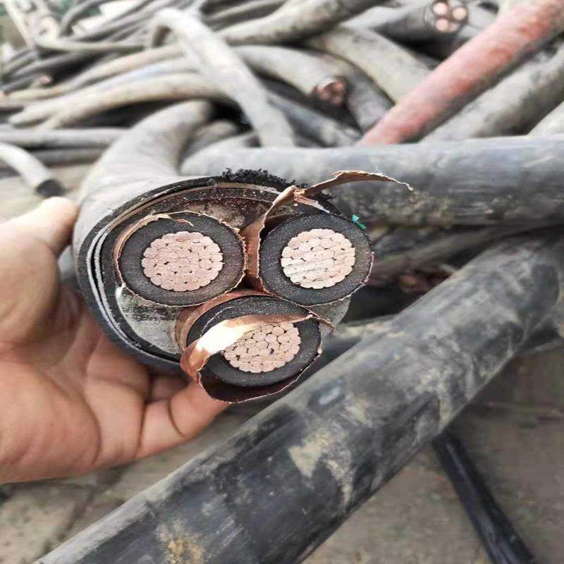 汉中西乡电缆条回收 汉中西乡长亮矿用电缆回收
