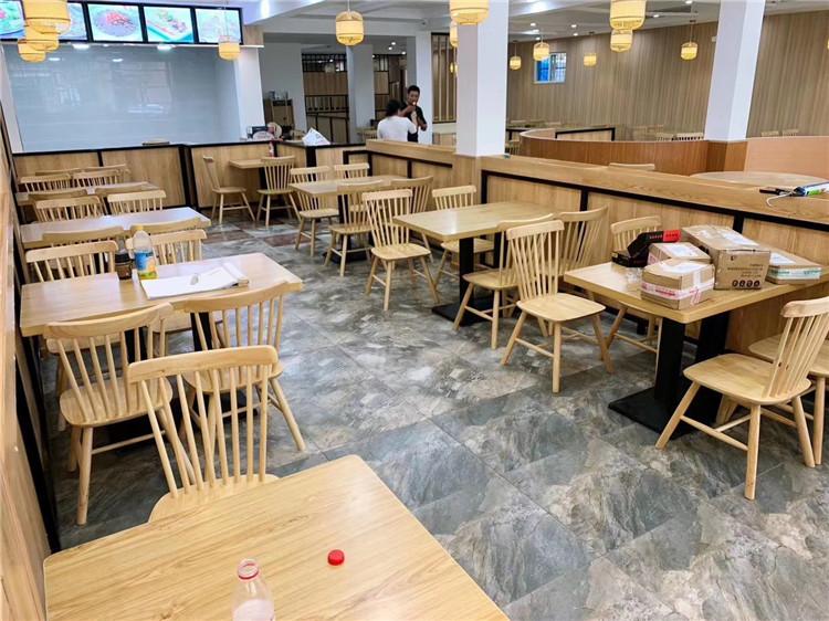 西安餐饮桌椅,披萨店用休闲桌沙发
