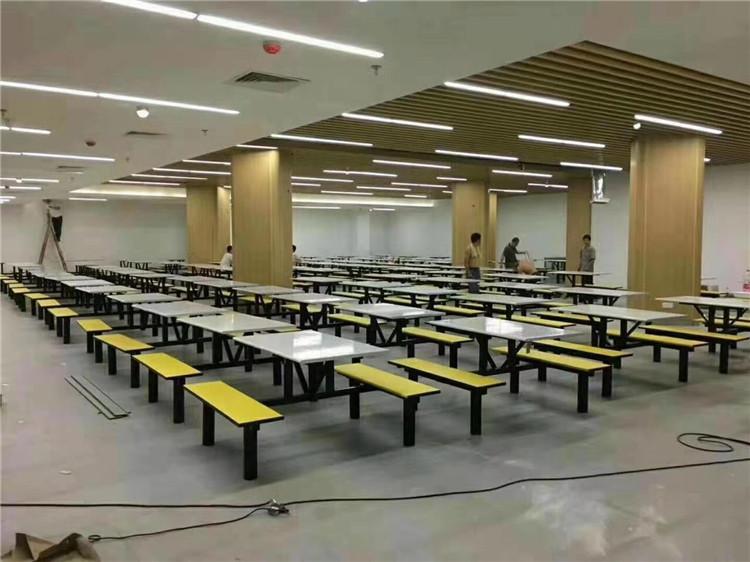 汉中学校食堂桌椅定制,陕西本地餐桌厂家