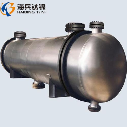 钛换热器 钛设备 列管换热器