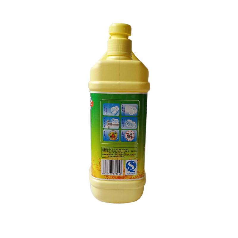 六盘水洗洁精 洗洁精厂家批发1.5kg/瓶 洗洁精代工生产
