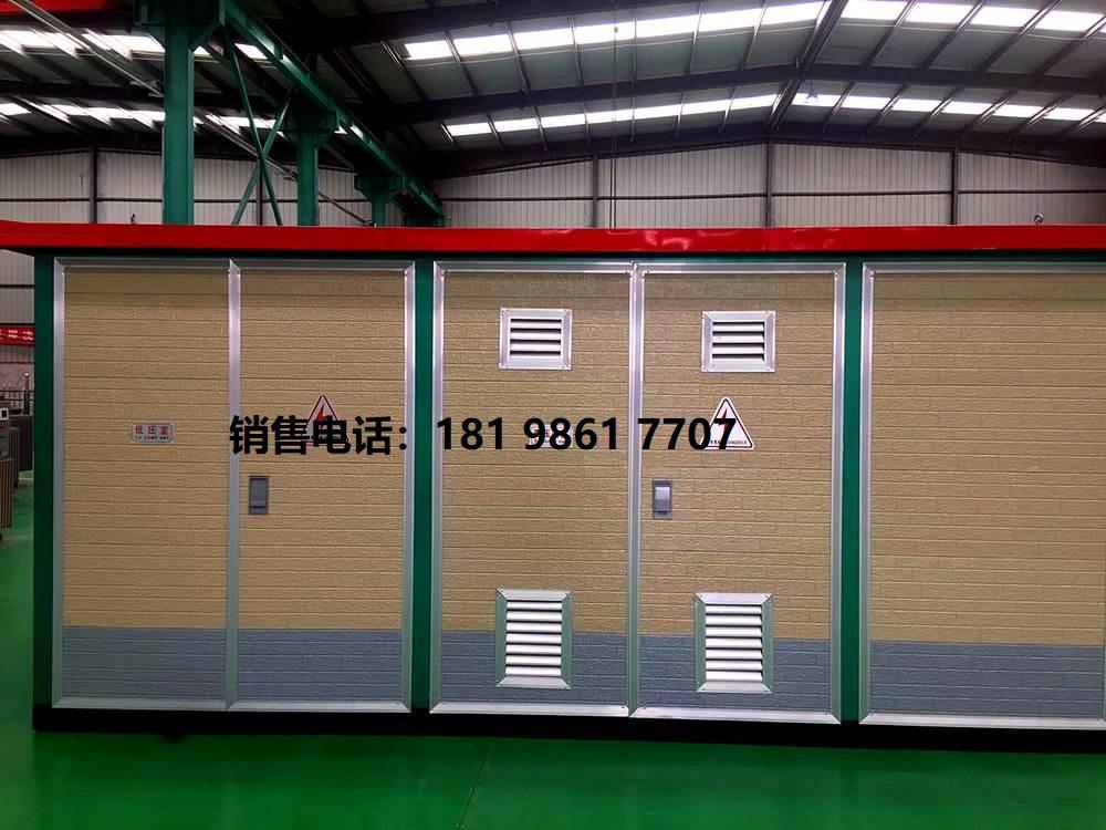 贵州厂家直销YBD-12-160kva地埋箱式变电站