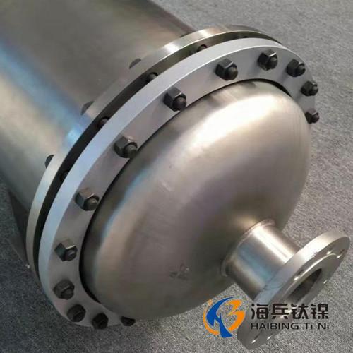 镍换热器 镍设备  镍列管式换热器