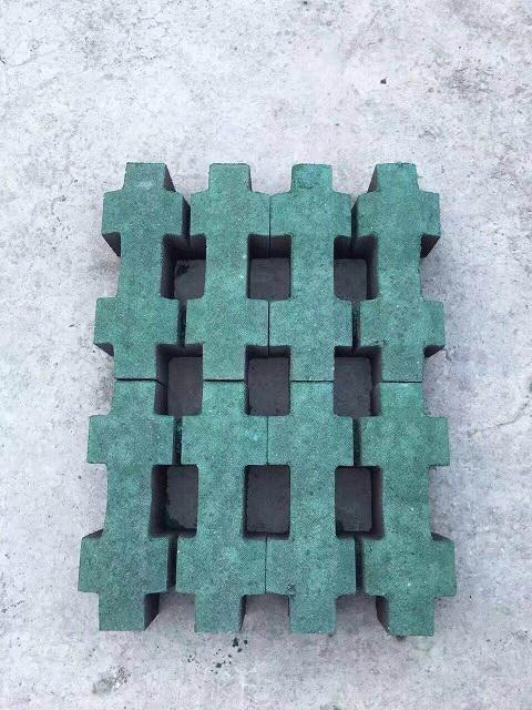 红花岗区草坪砖 井字型草坪砖 口字型草坪砖 混凝土草坪砖