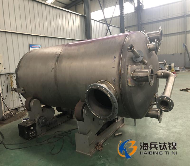 钛储罐 钛储罐厂家 钛储罐价格 钛设备制造