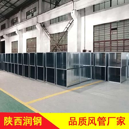 陕西镀锌铁皮风管厂家直销 镀锌风管定制价格