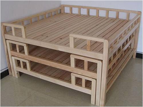 幼儿园大班床 幼儿园木制幼儿床,幼儿园实木幼儿床