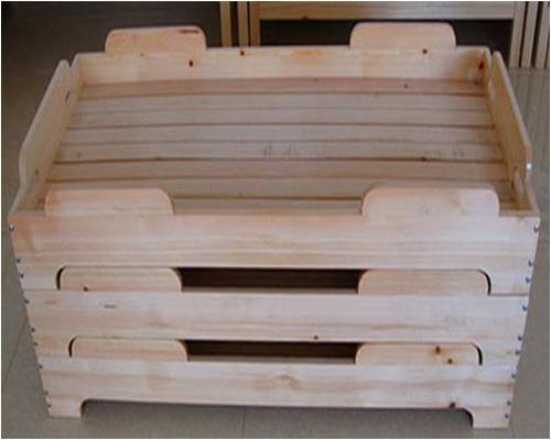 幼儿园室内床,幼儿园幼儿床,幼儿园幼儿实木床