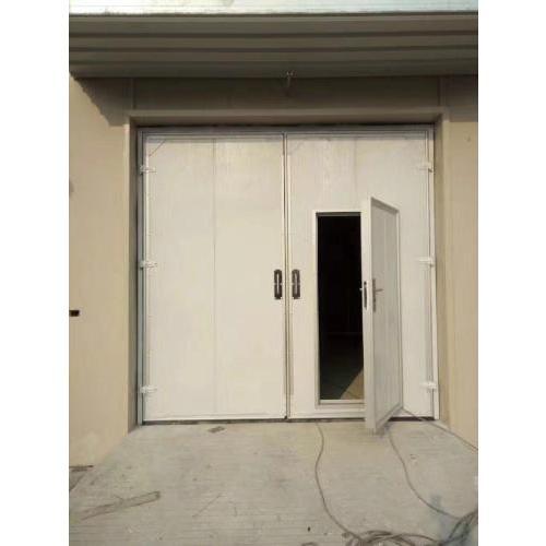 平开门 平移门 彩钢夹心大门