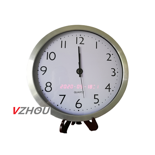 自动同步时间日历指针钟