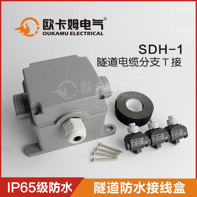 隧道接线盒 隧道照明接线盒  隧道地铁防水接线盒 电缆T接专用SDH-1
