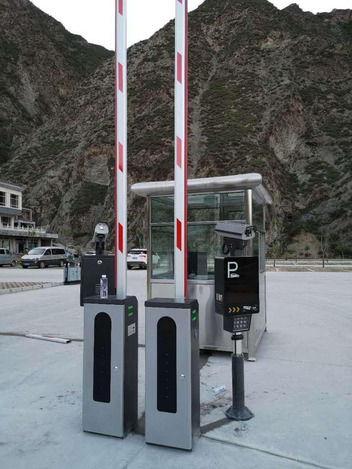白银车牌识别系统 停车场管理收费系统 智能停车场系统 厂家