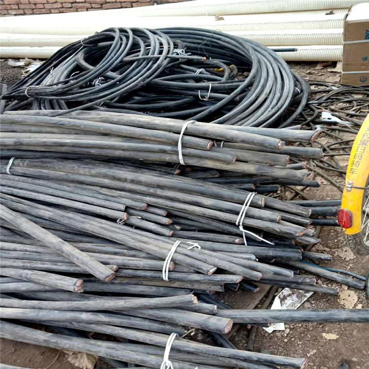 渭南富平回收旧电线电缆 渭南富平长亮正规电缆回收公司