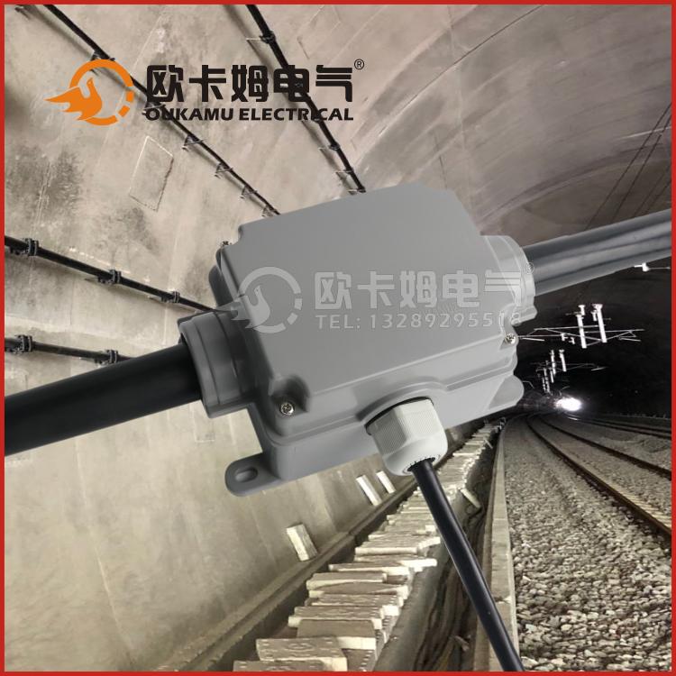 隧道接线盒 隧道照明接线盒  隧道地铁防水接线盒 电缆T接专用SDH-2