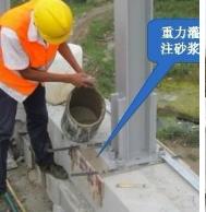 江苏重力砂浆 风屏障隔音墙专用锚固砂浆 早强浇筑砂浆