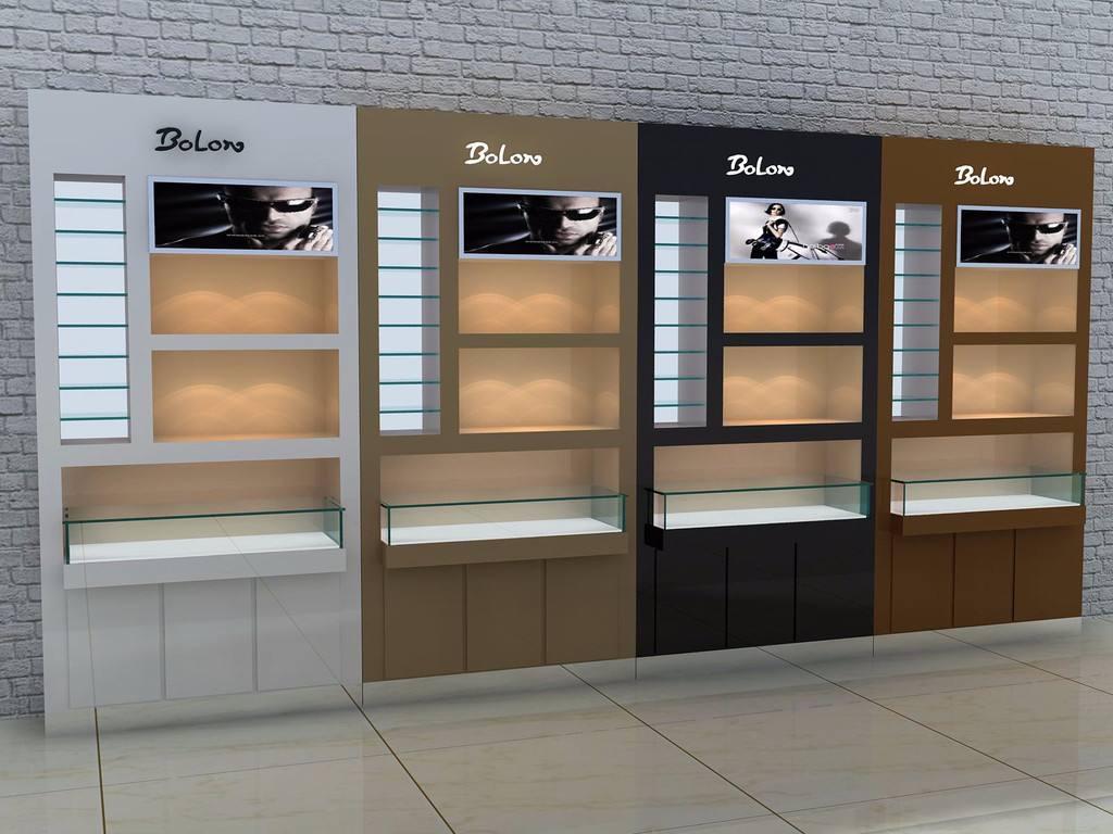 眼镜展柜眼镜展示架 专业展柜定制厂家