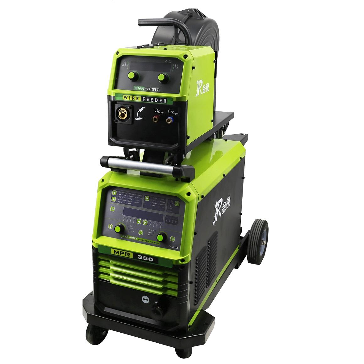 金锐MFR-350数字化双脉冲气保焊机自动送丝铝焊机