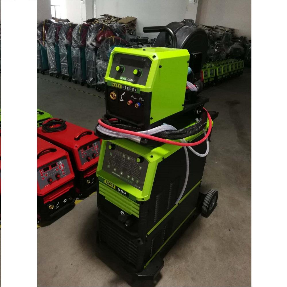 金锐MFR-500数字化脉冲气保焊机自动送丝铝焊机