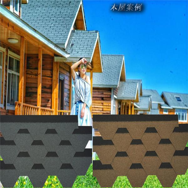贵州厂家批发屋顶菱型沥青瓦自粘