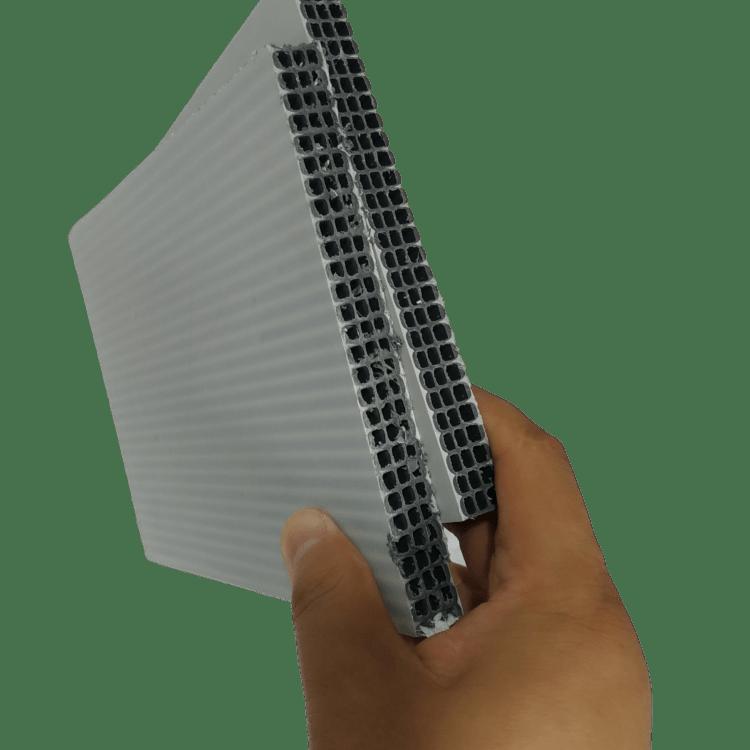 脱模简便不沾板面中空塑料模板源头厂家