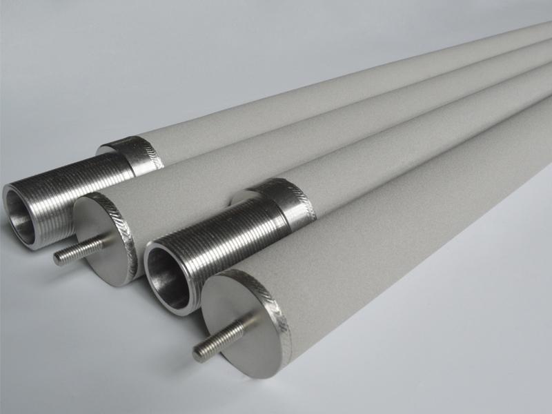 不锈钢粉末烧结多孔滤芯用于蒸汽、压缩空气除油净化过滤器