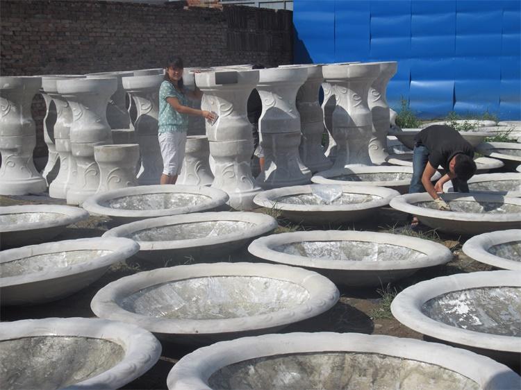玻璃钢花钵 西安花钵厂家 花钵花盆 花钵种植池 加工雕塑厂家