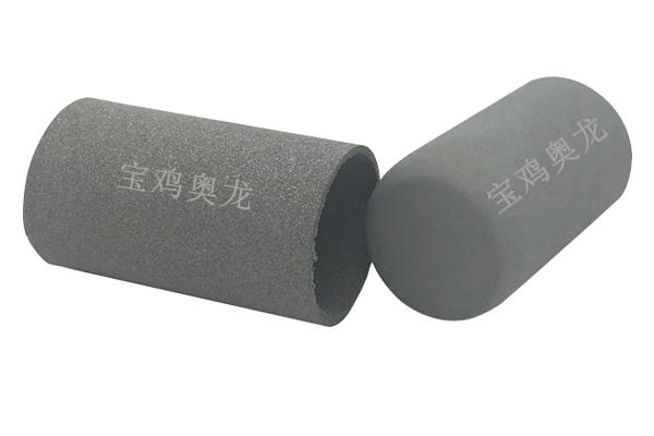 厂家直销批发零售管状烧结金属多孔滤芯