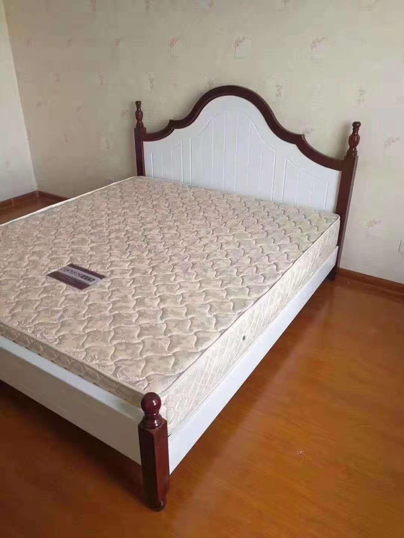西安便宜家用床 衣柜 公寓出租房屋家具现货批发1.2 1.5 1.8米床